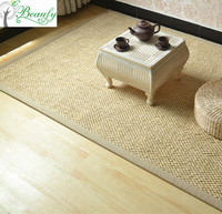 Made in China linen straw carpet