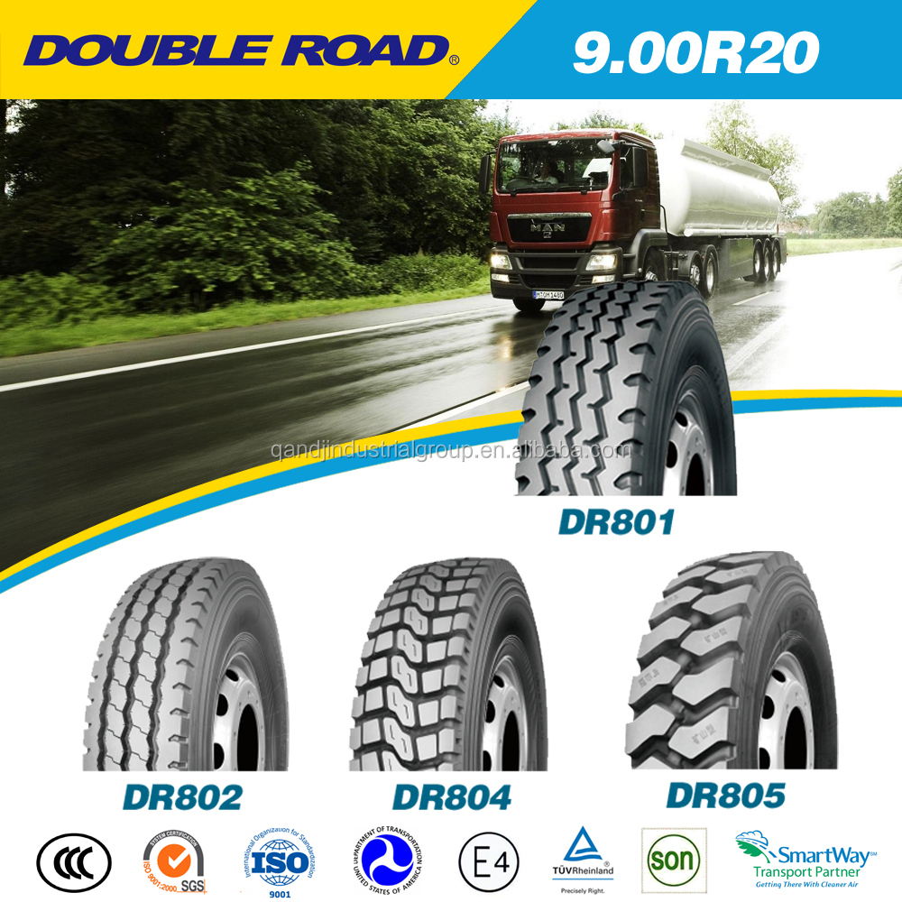 radial truck tire 900-20 brand truck tires import from China