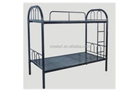 Latest design selling well good price hotel used steel double bed