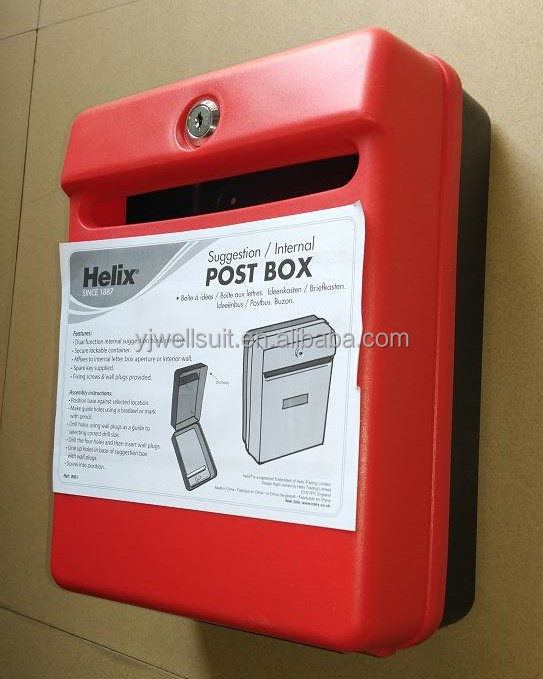 Home Garden Waterproof Parcel Delivery Box Drop Mailbox
