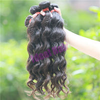 High quality malaysian virgin hair , little girls ponytail hair extensions