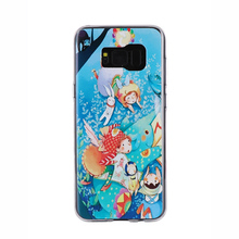 Fancy mobile phone case covers cartoon tpu phone case For Samsung galaxy S8 plus