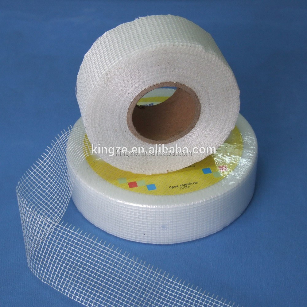 Reinforcement 8*8 60g/m2 self-adhesive mesh tape, fiberglass drywall tape, self adhesive fiberglass tape