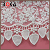 // Embroidery fabric lace flowers fabrics for clothes // high quality embroidery design swiss voile lace //