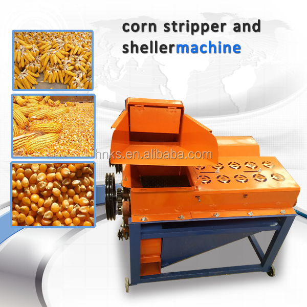 farm electrical automatic fresh maize corn shelling and threshing machine for sale