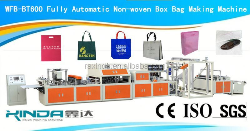 bag with handle all in one machine