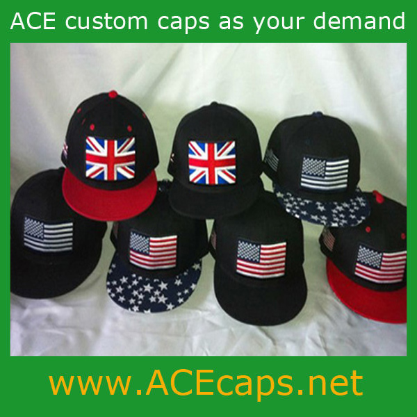 2014 World Cup Series Promotional Fashion Country Flag Snapback Caps and Hats