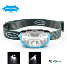 Modoking MT-301 Headlamp Waterproof lightweight camping light with white / red /strobe / SOS led light