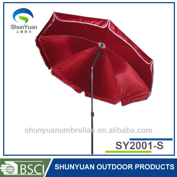 Eeconomic easy beach nylon umbrella