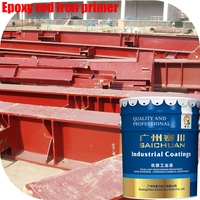 Corrosion protection red oxide metal primer paint