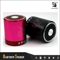 t2020a 2015 hotsale Portable Wireless Mini Bluetooth Speaker for Home AudioTF card USB port and FM radio