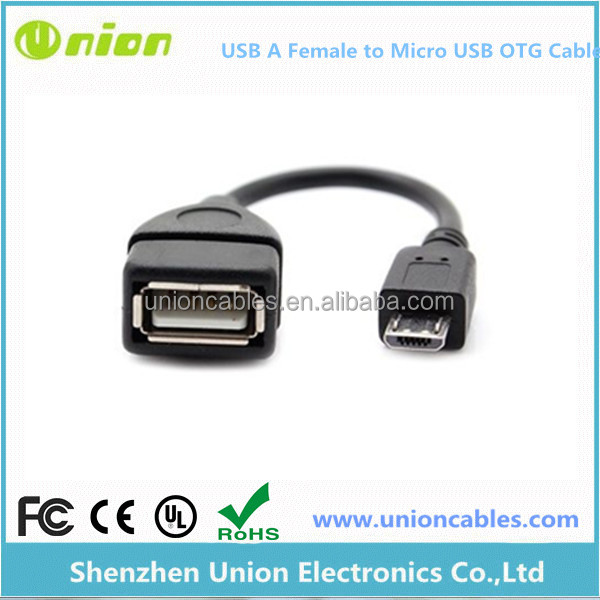 CABLE ADAPTER USB FEMALE to MICRO USB MALE OTG TABLETTE SMARTPHONE HOST