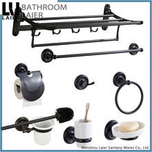 16000 chinese new design high quality Oil Rubbed Bronze use zinc alloy accessories bathroom set