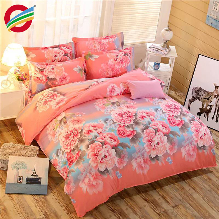 polyester fabric printed for bedding set