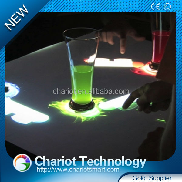 Wholesale Price China best supplier Chariot table interactive bar by Connection effect