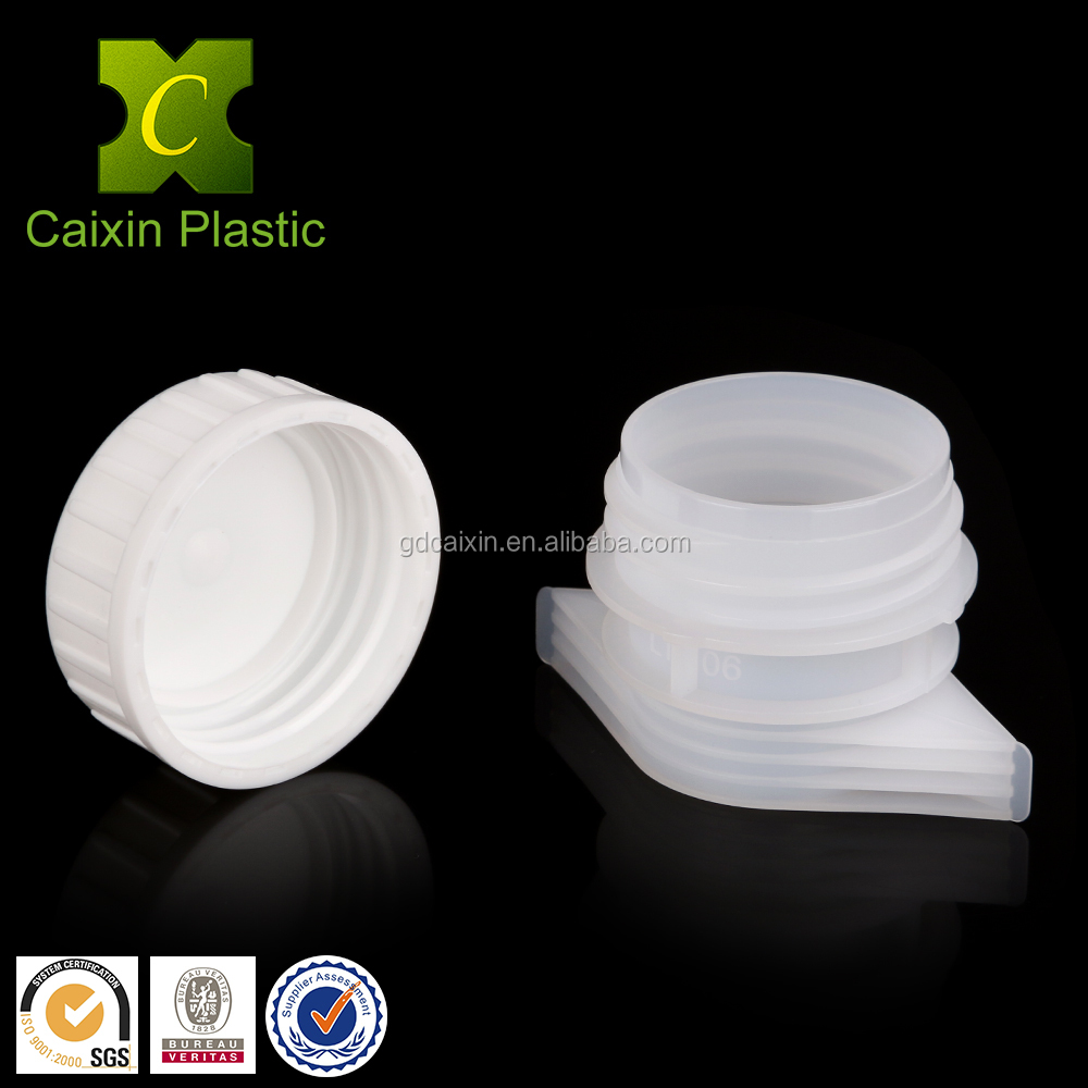 Large Size 33mm Plastic Screw Cover Caps for Detergent Doypack