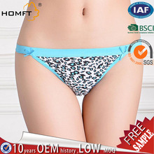 Hot Sale Sexy Underwear Womens Panties Lace Leopard Briefs