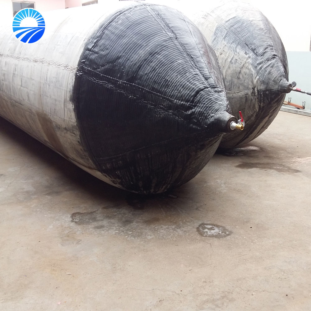 Marine rubber airbag for vessel salvage exported to South Asia