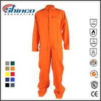 CE certificate inherently fireproof coal mine european workwear