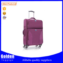Lightweight foldable trolley luggage bag, superlight folding trolley luggage, ultra light fabric folded luggage suitcase set