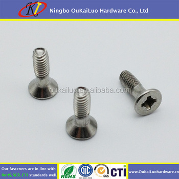 ANSI 304 Stainless Steel Phillips Flat Head Thread Forming Screws for Aluminum