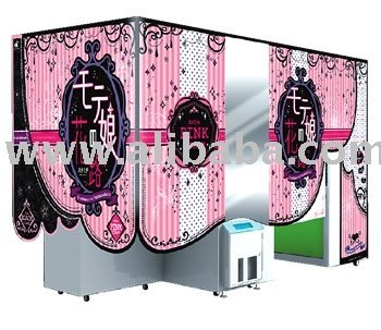 Popular Girl-Purikura Booth | Photo Sticker Machine