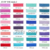 New high quality in 94 colors Fold Over Elastic Hair accessory stretchy Hair Headbands - FOE By The Yards