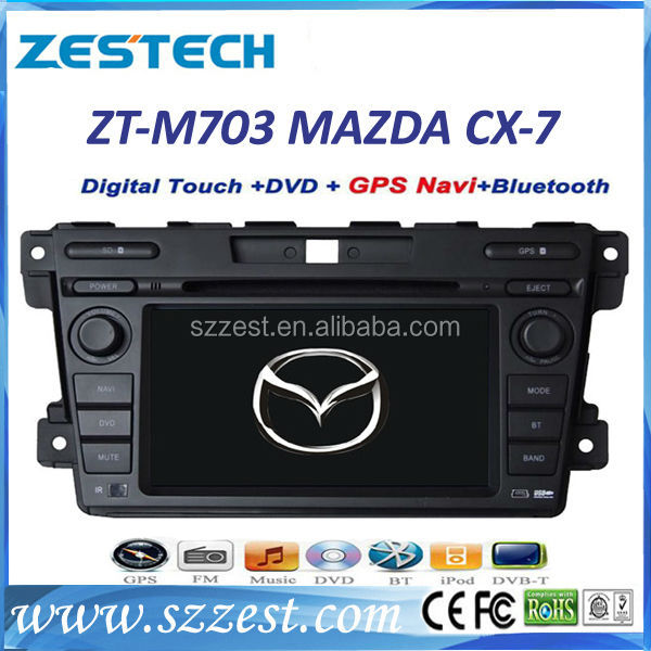 ZESTECH wholesales auto stereos for MAZDA CX-7 ( 2007-2014 ) mp3 cd player car stereos gps sat nav