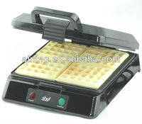 4 Slice Square Belgian Waffle Maker Big Power with Ceramic Coating