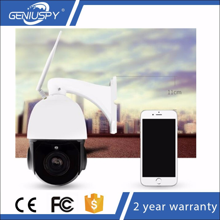 H.264 P2P Onvif SD Card Slot IR Waterproof 4x Optical Zoom 1080P Mini Wifi Wireless Outdoor Dome Ptz IP Camera