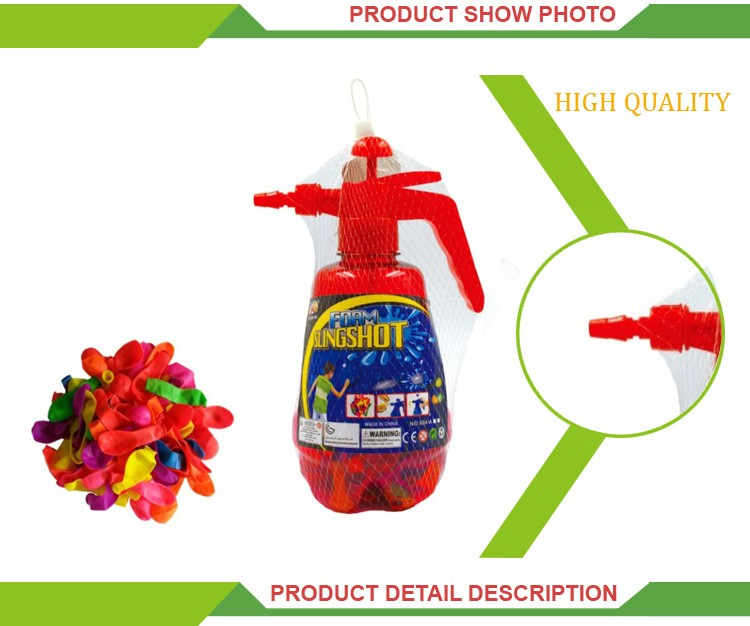 Wholesale summer outdoor toys inflatable water balloon slingshot