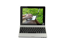 2014 ultrathin aluminium alloy Bluetooth keyboard for ipad ,macbook like keyboard