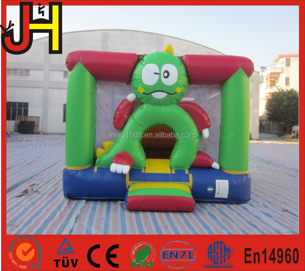 Inflatable frog bouncer, frog model jumping house, inflatable frog bouncy castle