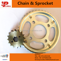 Indonesia motorcycle driving chain sprocket cd70