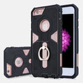 2 in 1 hybrid protective case for iphone 7 case, silicone +plastic case for iPhone 7