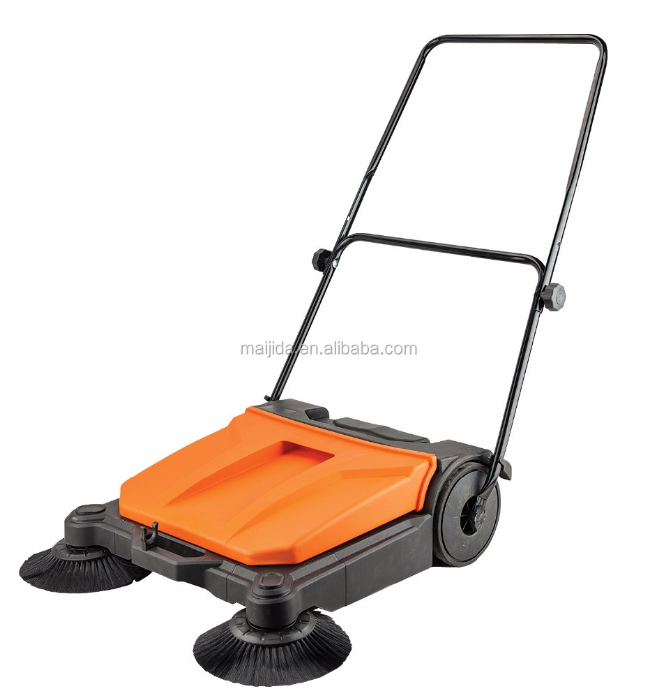 manual road sweeper MS68 cleaning help plastic sweeper made in yongkang manual road sweeper