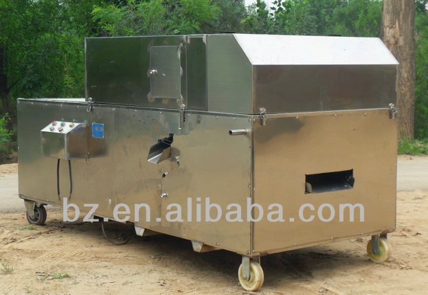 Automatic date palm haw deseeding machine