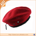 Pure color military berets, stomatal army hat