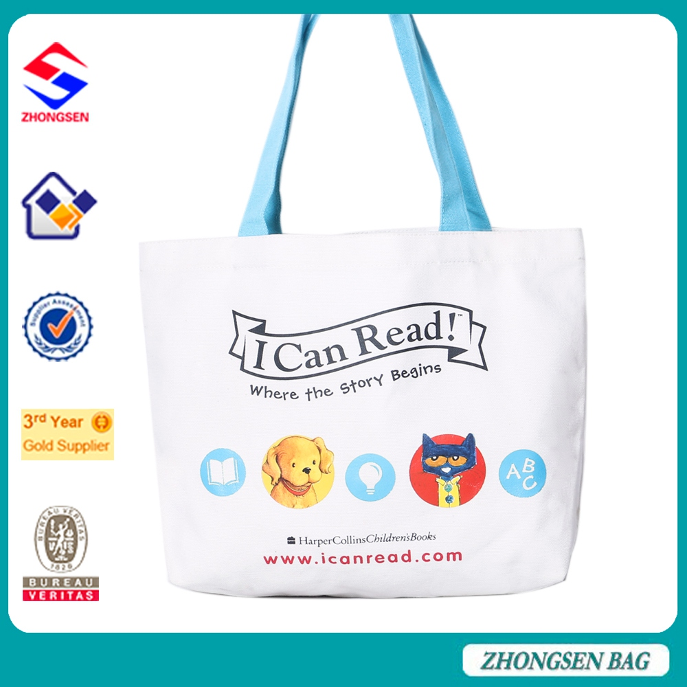 OEM manufacturers cotton printing shopping bags handbag for shopping