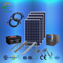 ZJSOLA 1000W off-grid solar power system, professional supply off grid 1KW mini