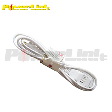 S90189 UL Listed Indoor AC Power Electric Cable Extension Cord