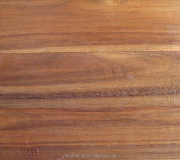 2017 New Product Natural Acacia Grain Solid Wooden Flooring
