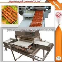WY-556 fully functional mutton/beef/chicken automatic kebab skewer machine