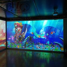 high quality interactive projection floor system kids indoor amusement park equipment with interactive painting games