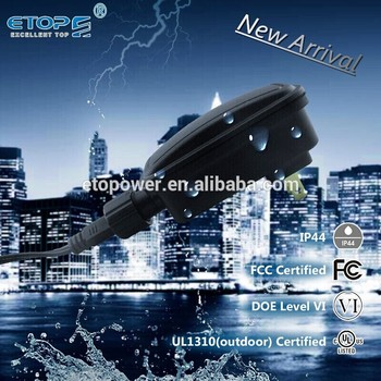 UL1310 FCC US type ac/dc adapter power 5W 6W adapter 12v 5v led power supply