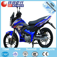 High quality air cooled 125cc automatic motorcycle with fashionable headlight and meter ZF125-3
