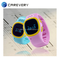 Best cheap!! smart watch mobile phone for kids tracking location, waterproof gps tracking watch