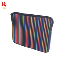 Custom 3mm comfortable waterproof colorful neoprene laptop sleeve for 14 inch