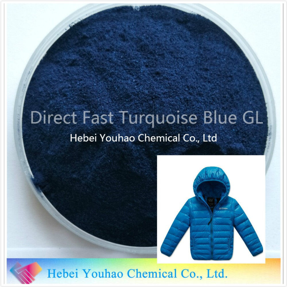 Direct Fast Turquoise Blue GL/Direct Blue 86/Blue Dye/Textile Dye
