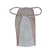 disposable nonwoven G-string and thong for daily, medical and surgical use